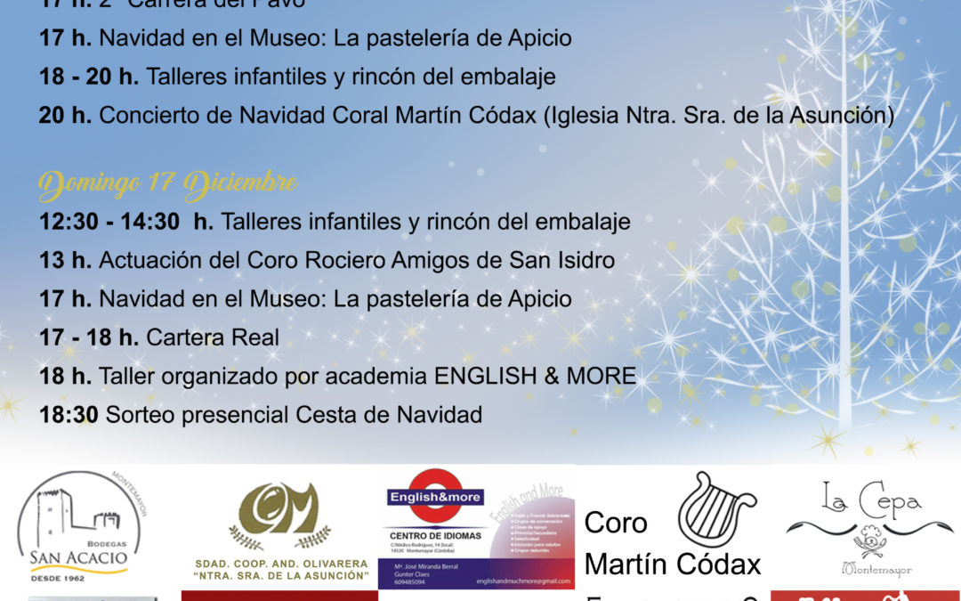 Actividades Mercado Navideño 2017