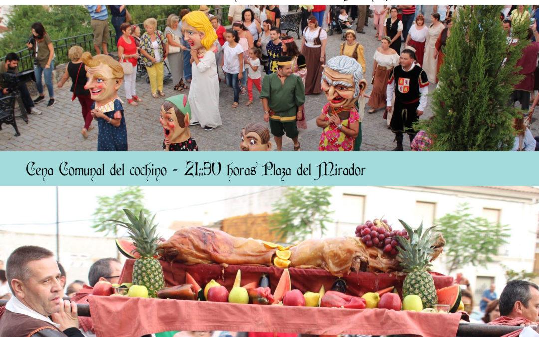 Desfile de los pobladores. VIII Montemayor Medieval.