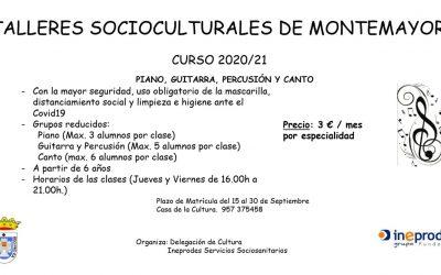 Talleres socioculturales de Montemayor