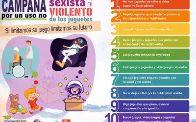 Campaña por un uso no sexista ni violento de los juguetes
