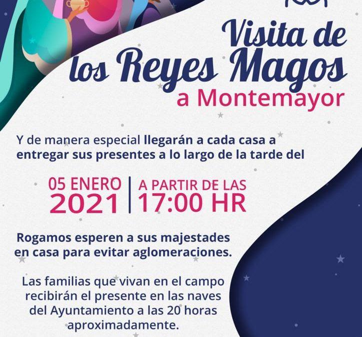 Visita Reyes Magos 2021