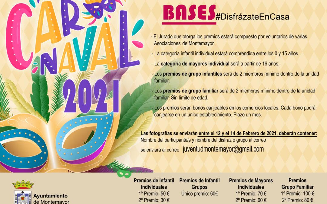 Carnaval 2021 #DisfrázateEnCasa