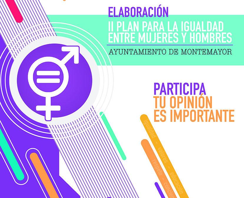 Encuesta elaboración II Plan de Igualdad de Montemayor