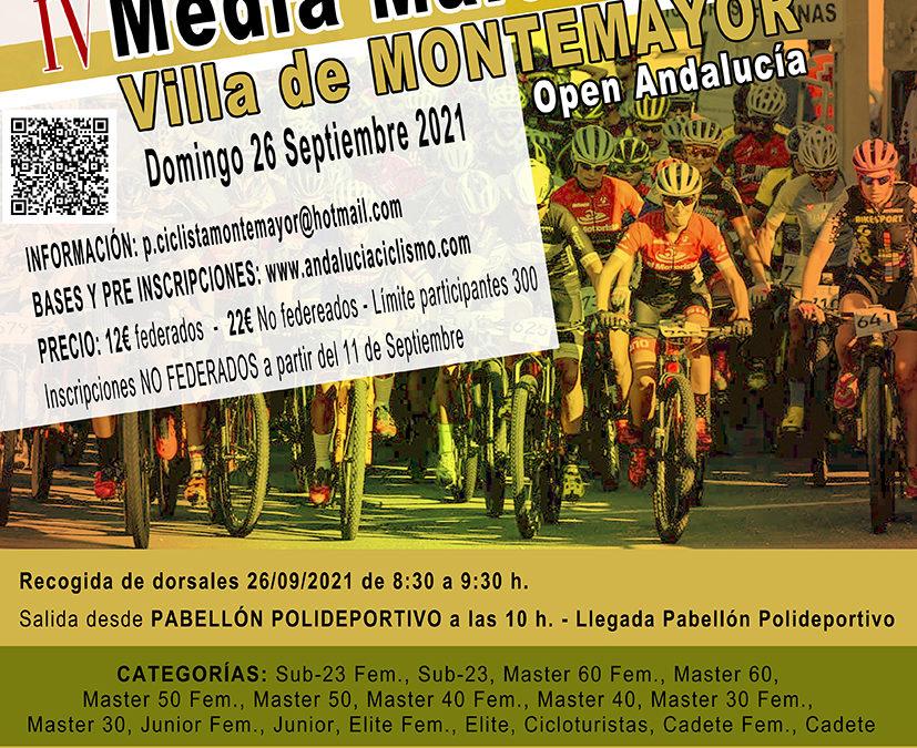 IV Media Maratón BTT Villa de Montemayor